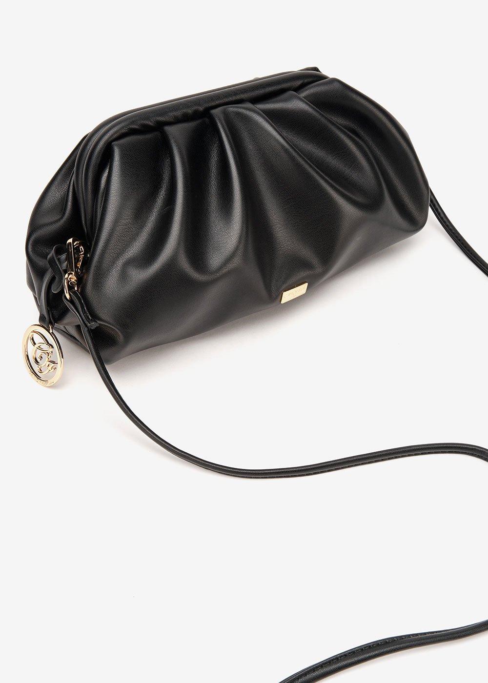 Bridge soft clutch bag - Black - Woman