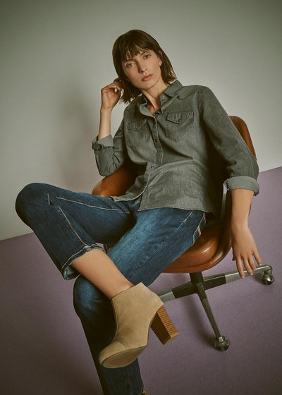 Cristy denim shirt