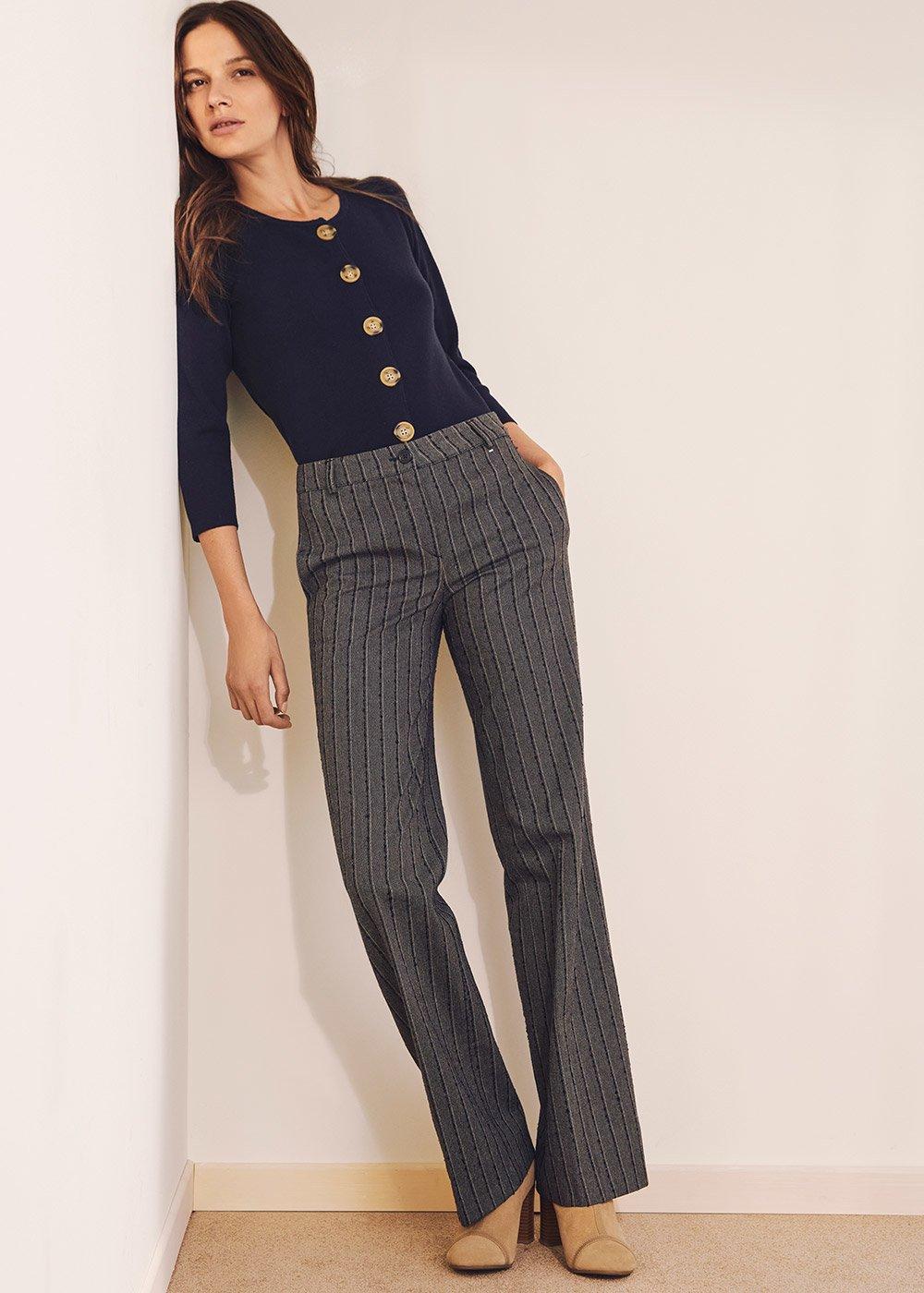 Miriam cardigan-effect sweater - Ultramarine - Woman