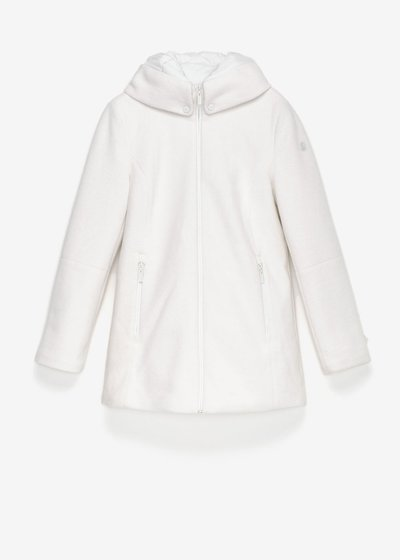 Park down jacket with hood