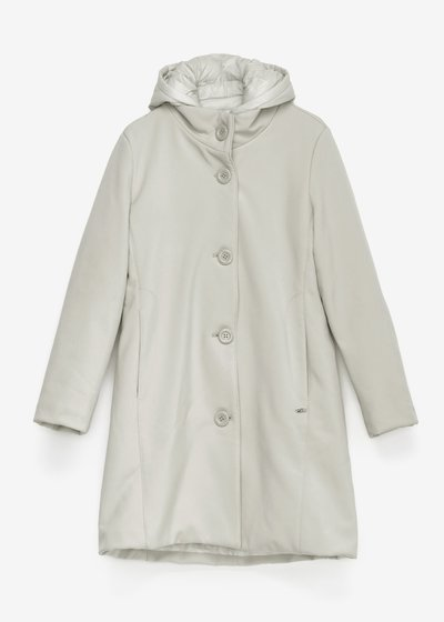 Carlin padded coat with hood