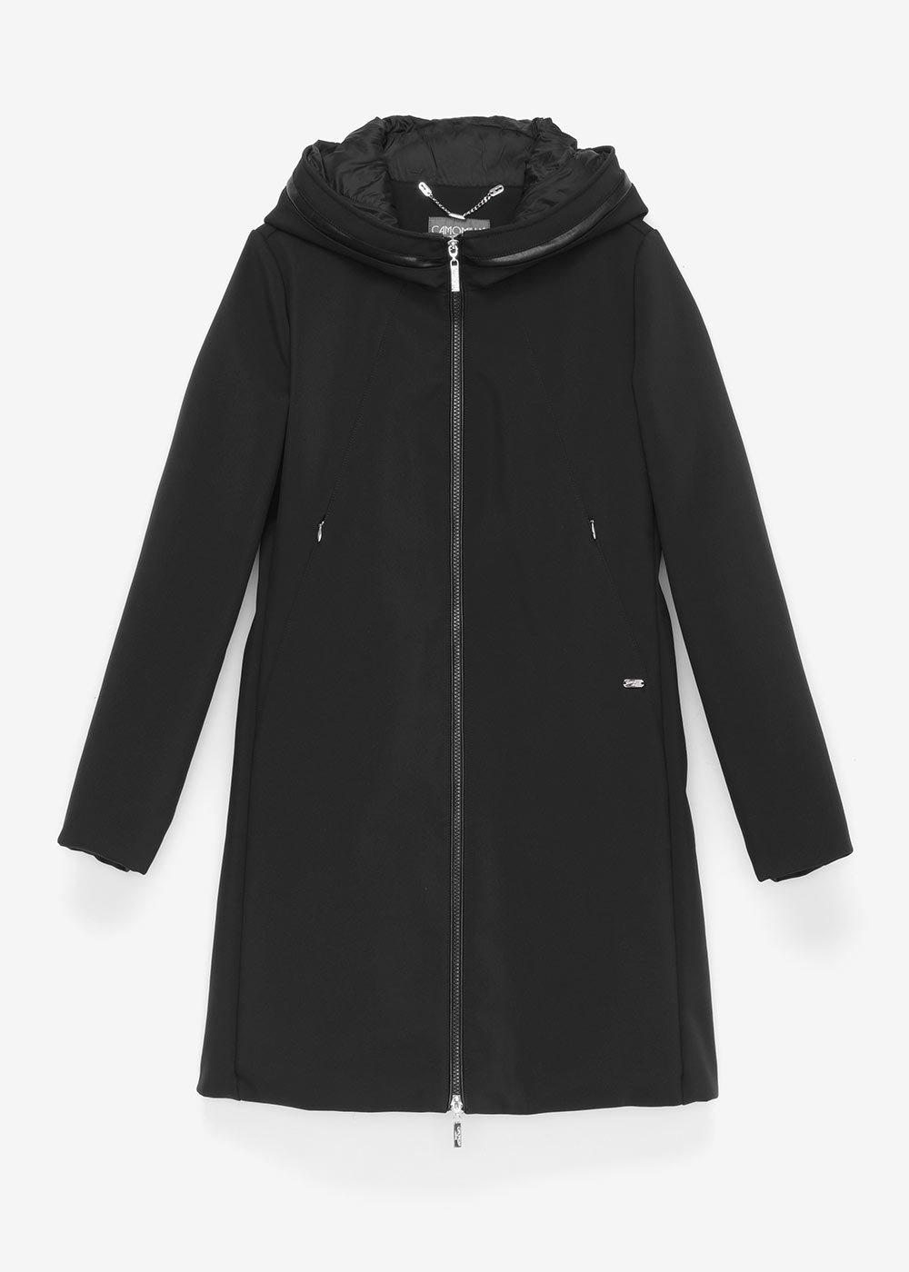 Caril coat with a sporty cut - Black - Woman