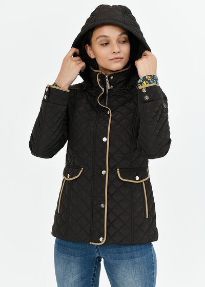 Gary jacket with quilted effect