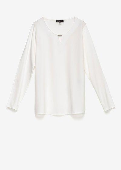 T-shirt Shari in doppio tessuto