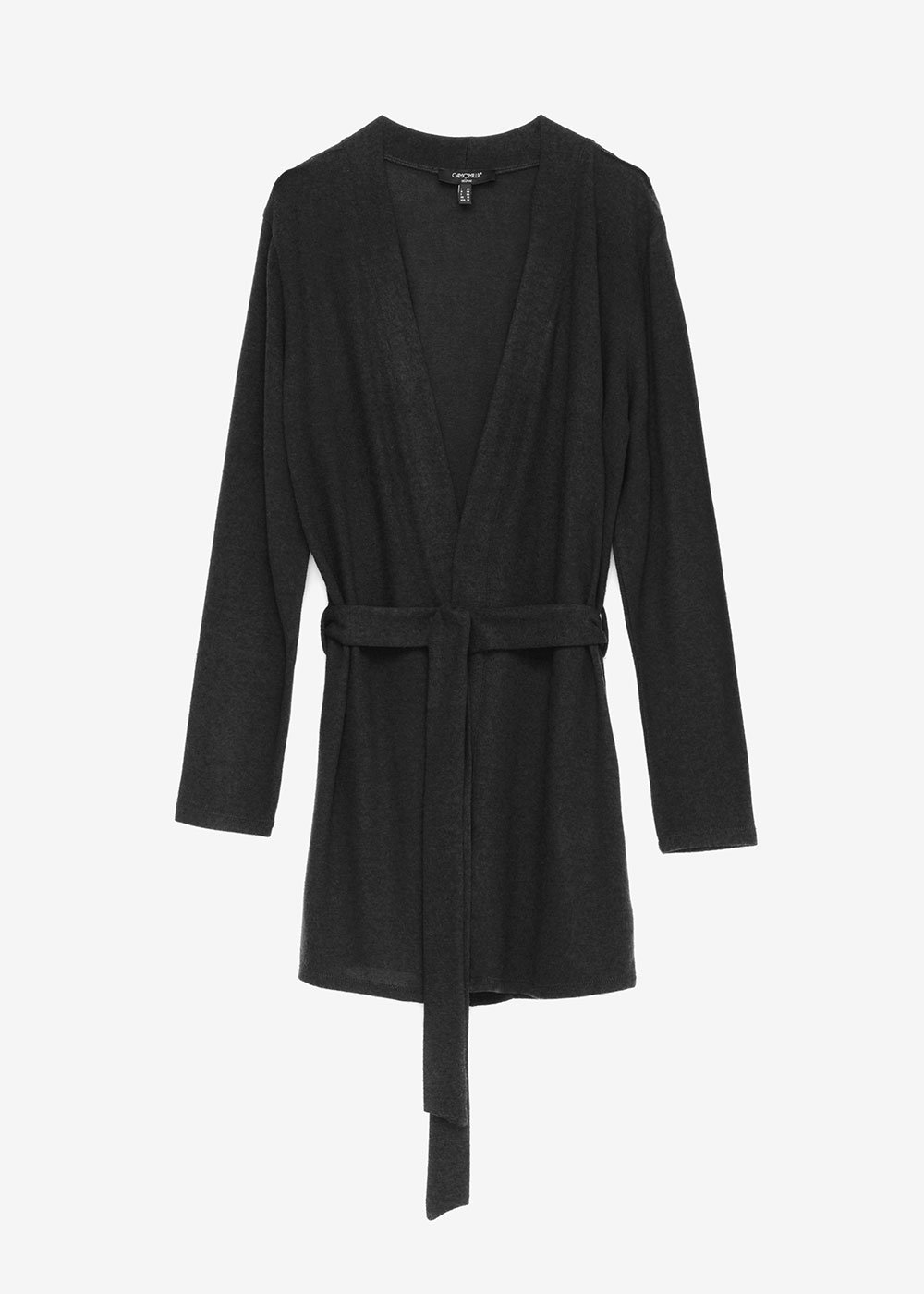 Cleo viscose cardigan - Black - Woman