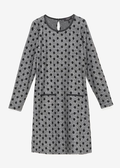 Avryl dress with polka-dot pattern