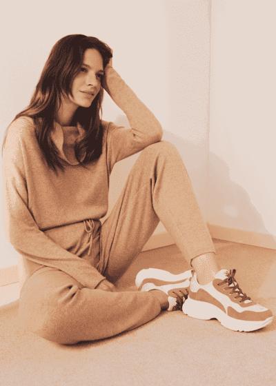 Samara tricolour sneakers