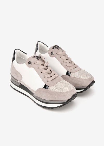 Sheryl sneakers with high crepe soles