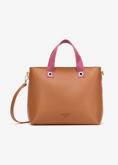 Shopping bag Bessie bicolor