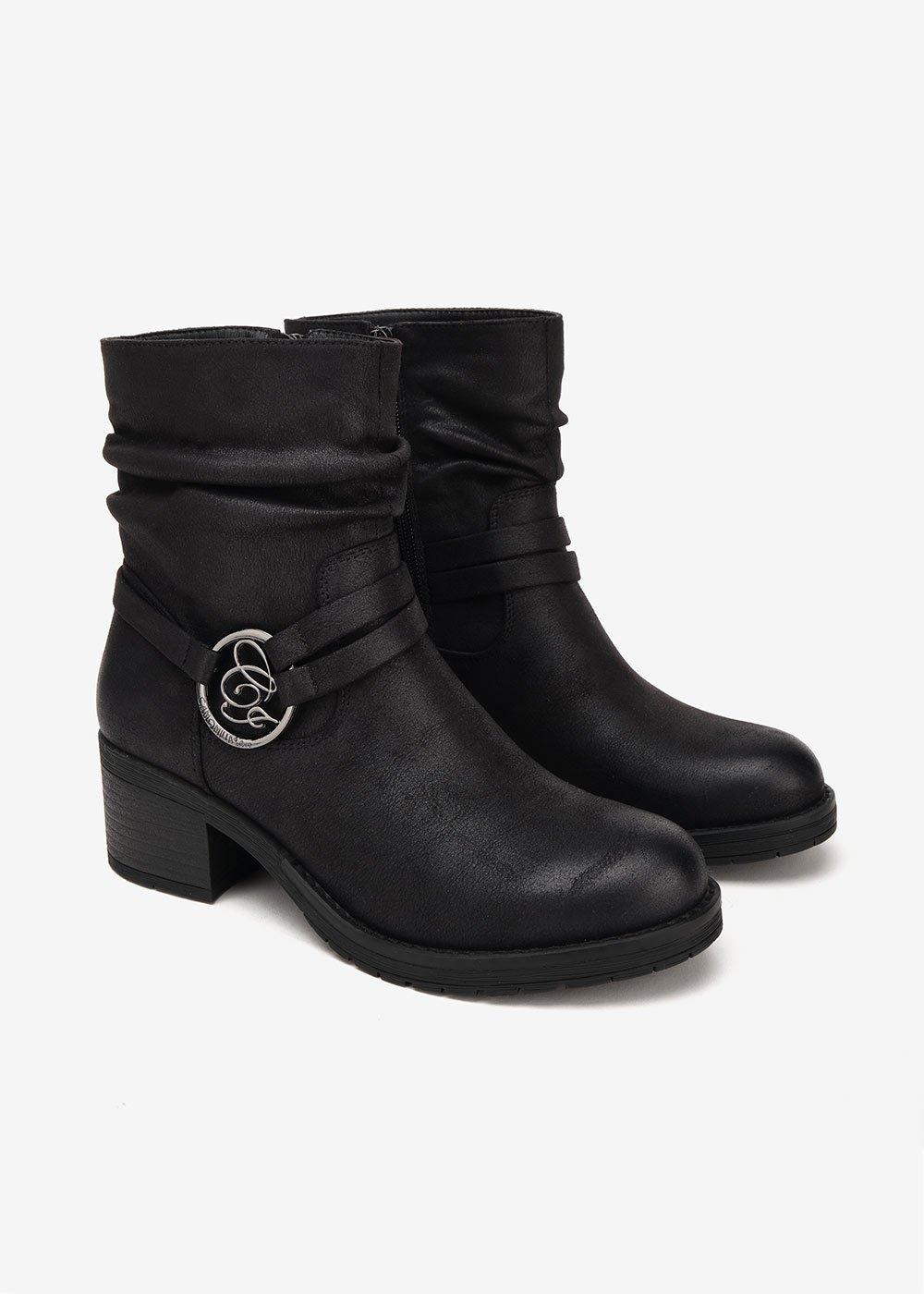 Symon biker boots - Black - Woman