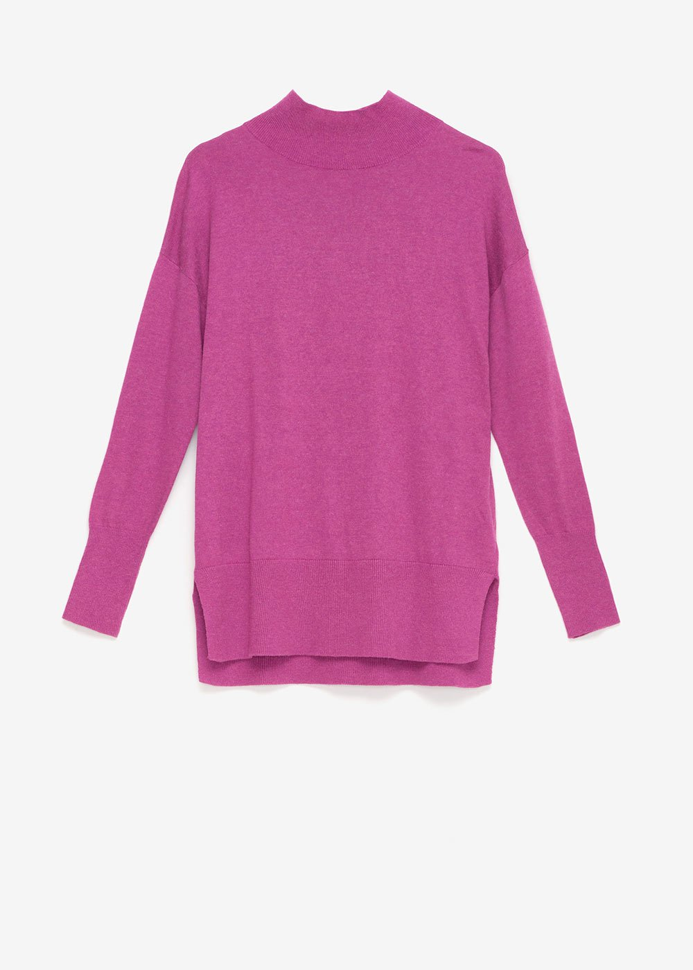 Melania high-necked sweater - Mora - Woman