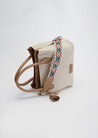 Blondy canvas bag