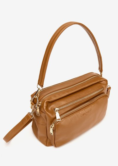 Berys multi- compartment Boston bag