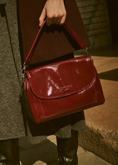 Brays patent leather bag