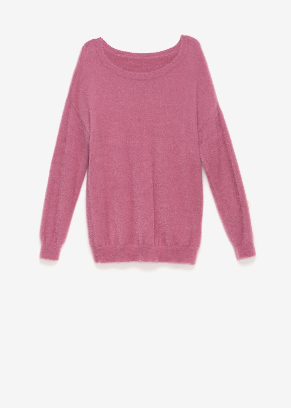 Micael fur-effect sweater - Cammeo - Woman