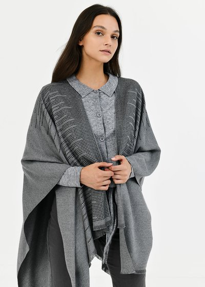 Meret cape with crystals