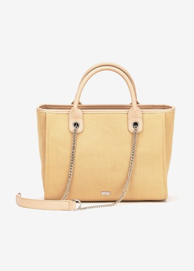 Bett canvas shopping bag