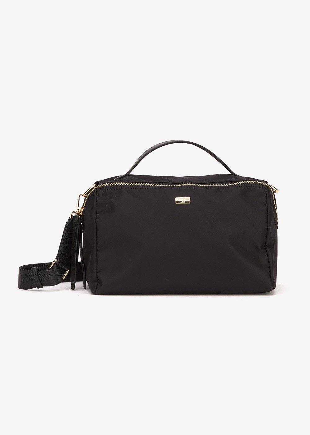 Blanc Boston bag in technical fabric - Black - Woman
