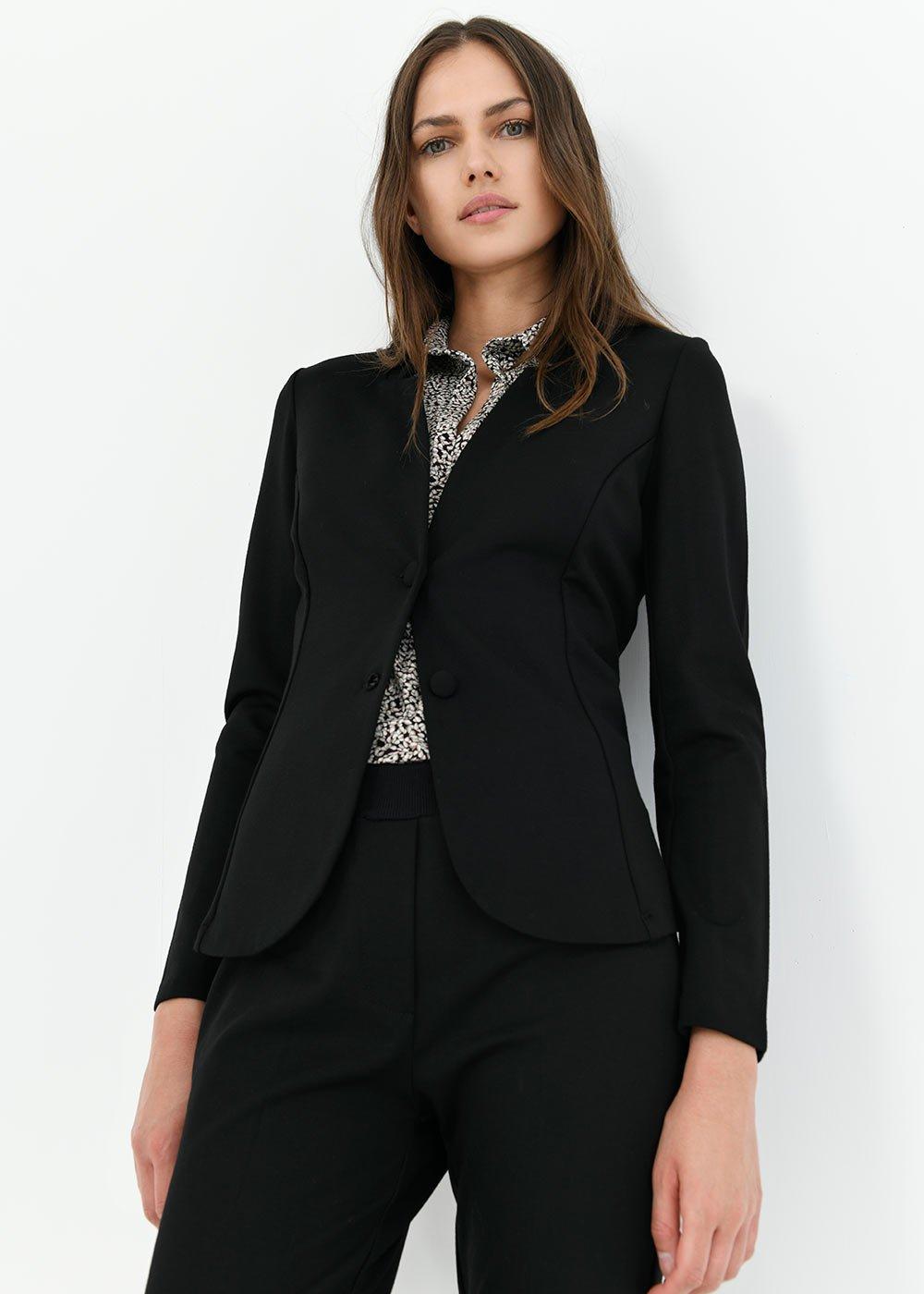Corynn jacket model cardigan - Black - Woman