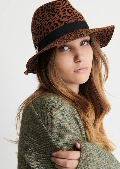 Catlyn Animalier Wool Hat