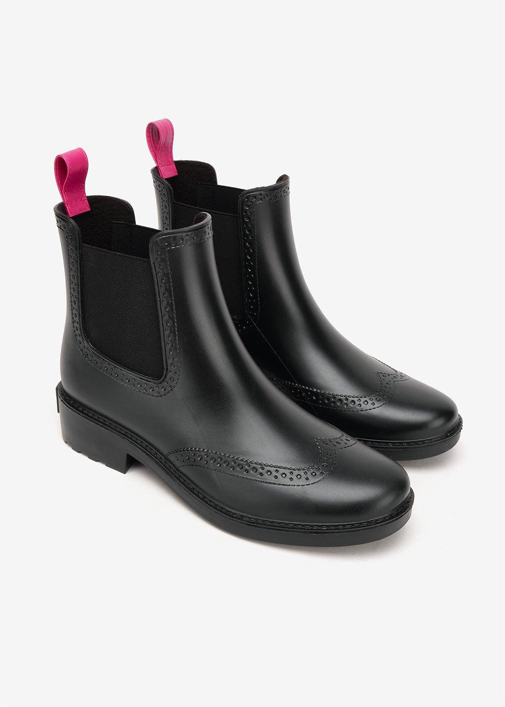 Rachel rainproof boots - Metal - Woman