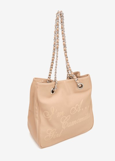 Shopping bag Camo girl effetto nylon