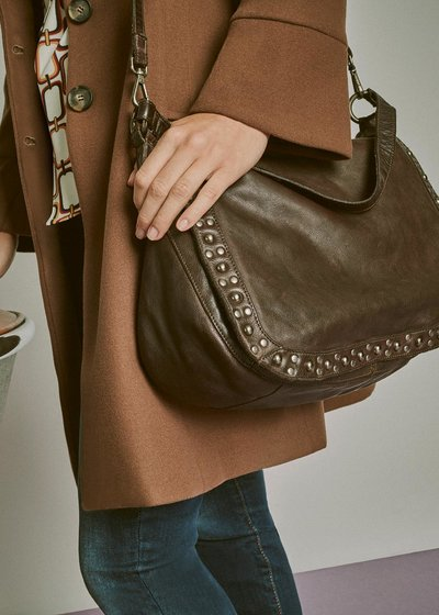 Benny genuine leather shoulder bag