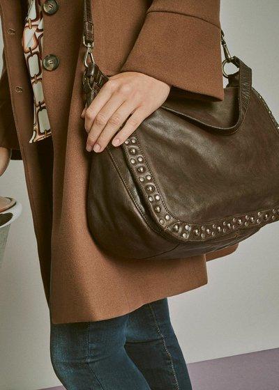 Benny genuine leather shoulder bag