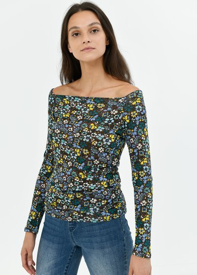 Soel T-shirt with floral pattern