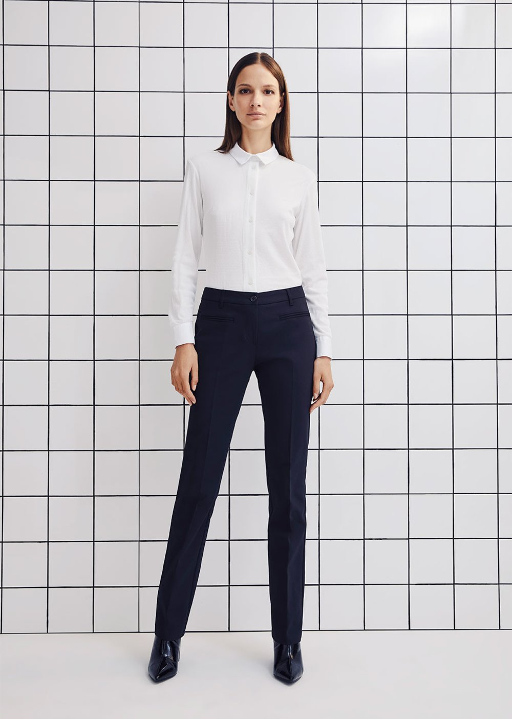 Pantalone Carrie 5 tasche - Black - Donna