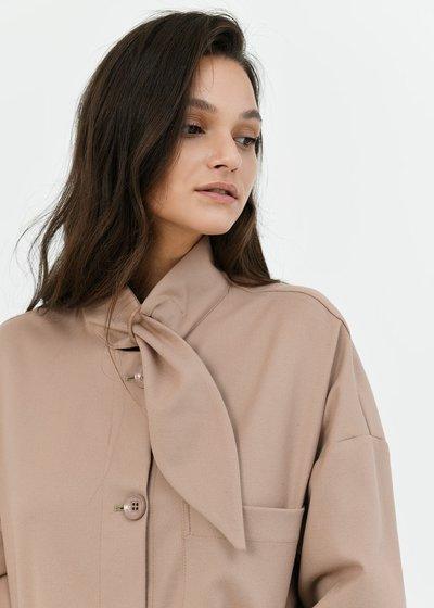 Cyril shirt-model jacket
