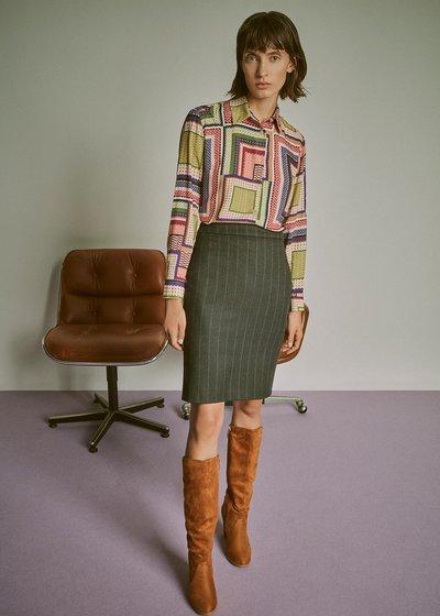 Cristina patterned shirt