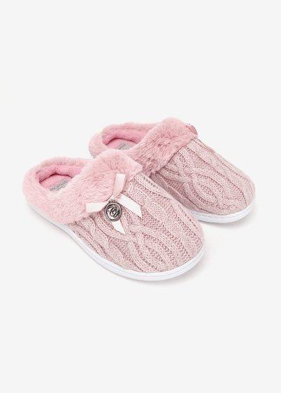 Pantofola Pessy in maglia