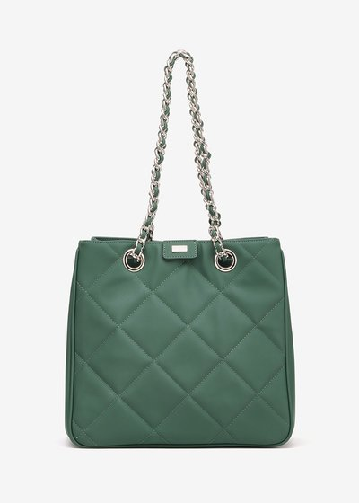 Bambi shopping bag with quilted effect