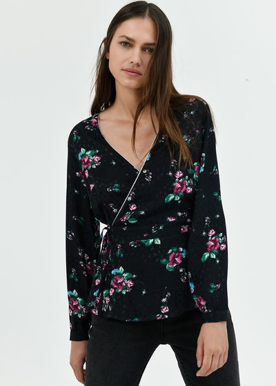 Clea criss-cross shirt