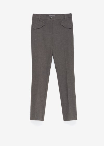 Carrie flannel trousers