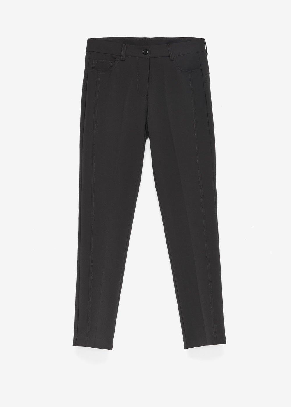 Pantalone Katerunne modello skinny - Black - Donna