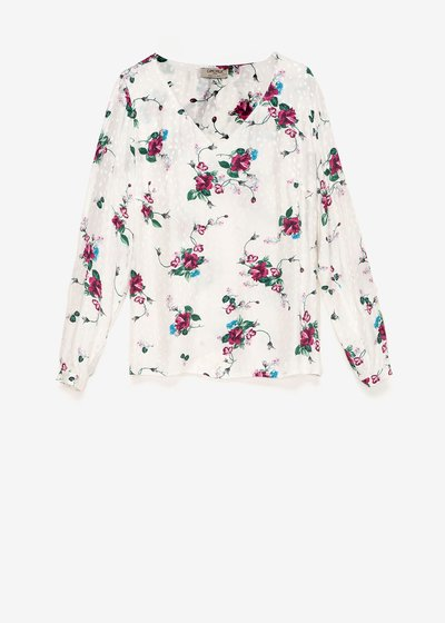 Sabryna t-shirt with flower pattern