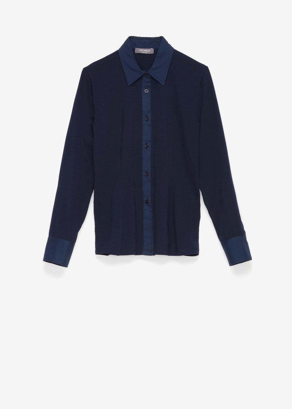 Camicia Camille con polsini - Blue - Donna