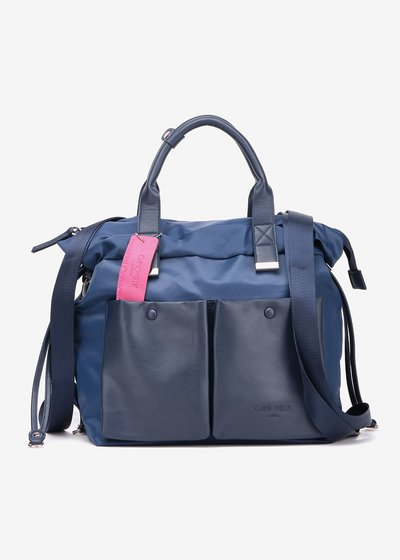 Brigit Nylon and Eco Leather Bag