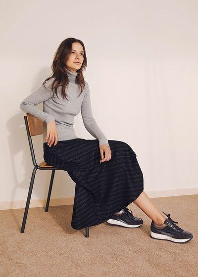 Giulia mid-length skirt