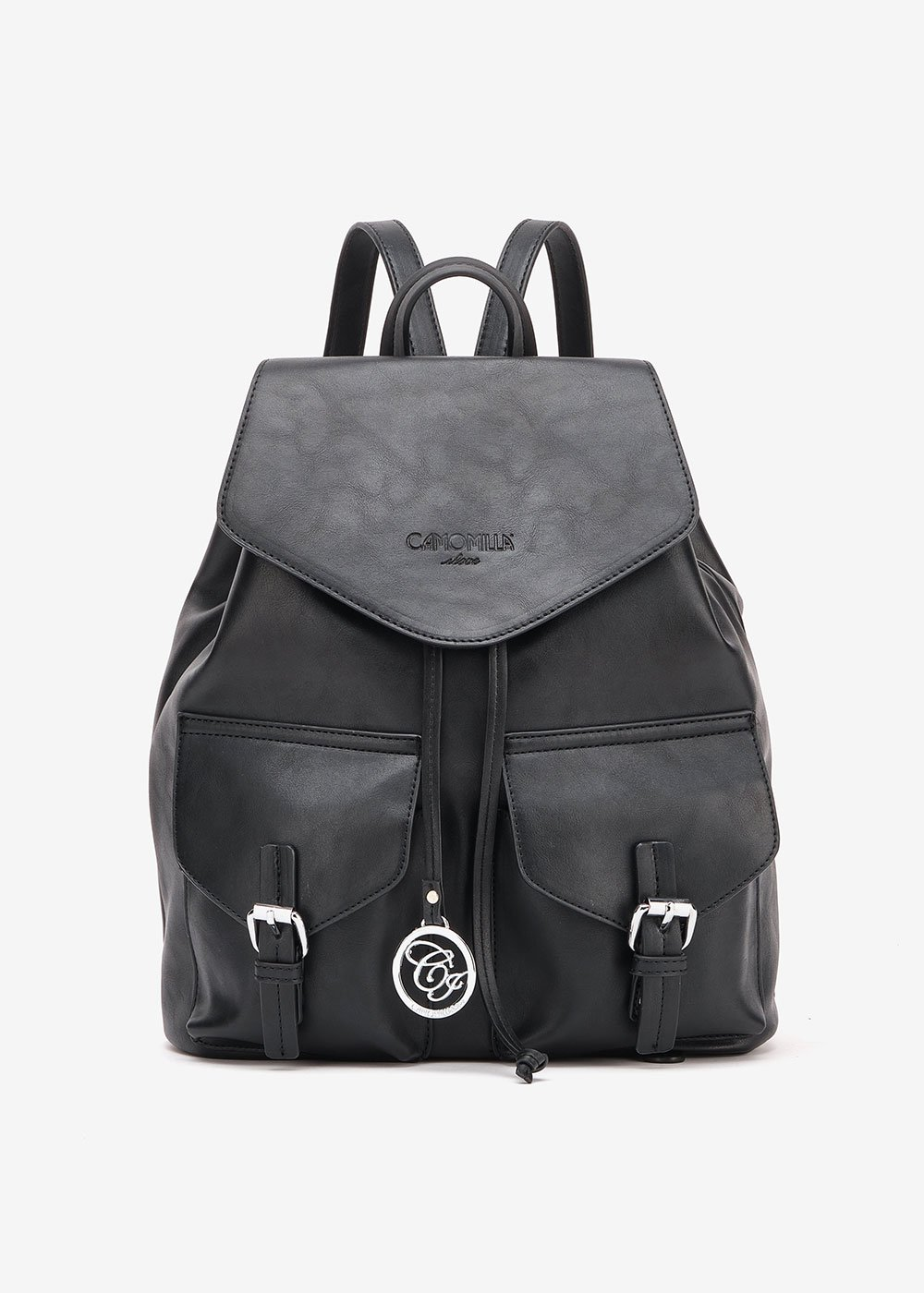 Baddy backpack with pockets - Black - Woman