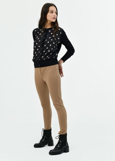 Kelly leggings with elastic waistband