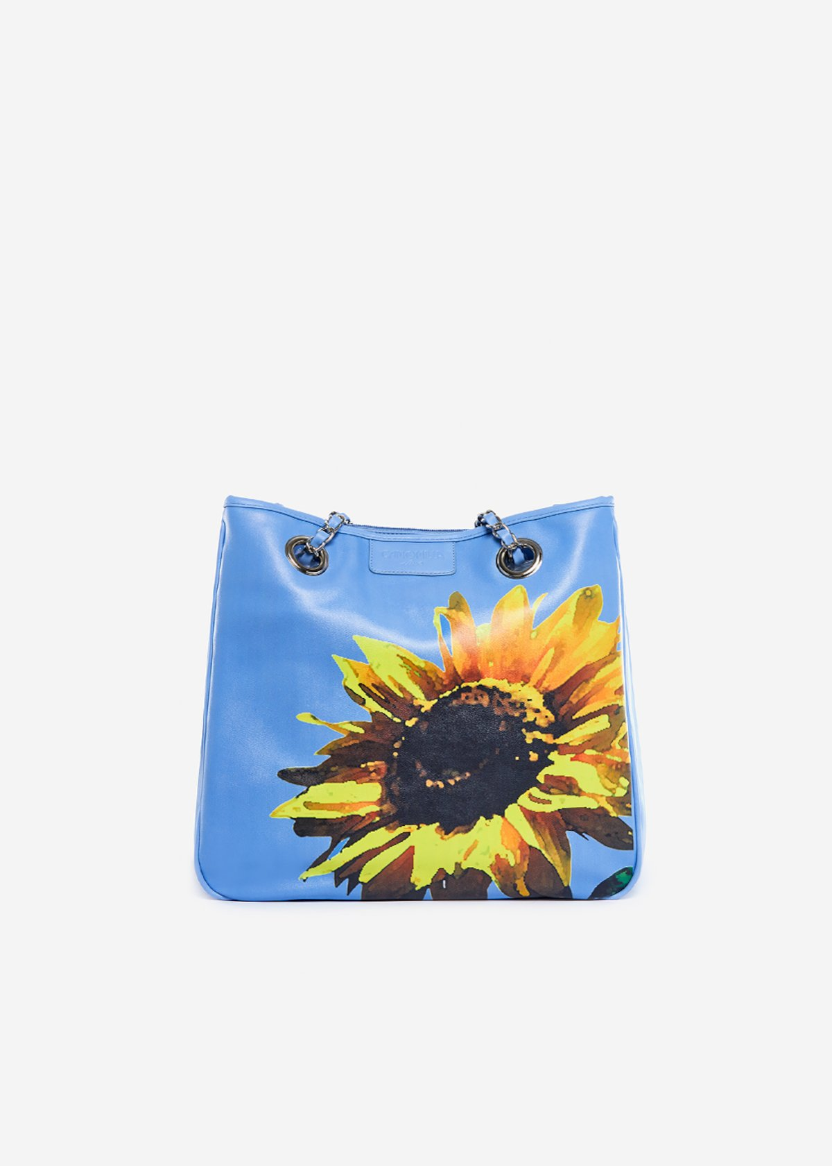 Bag Mini lady flower in eco leather Sunflower - Morning