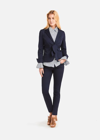 Pantaloni Scarlett in cotone - Medium Blue