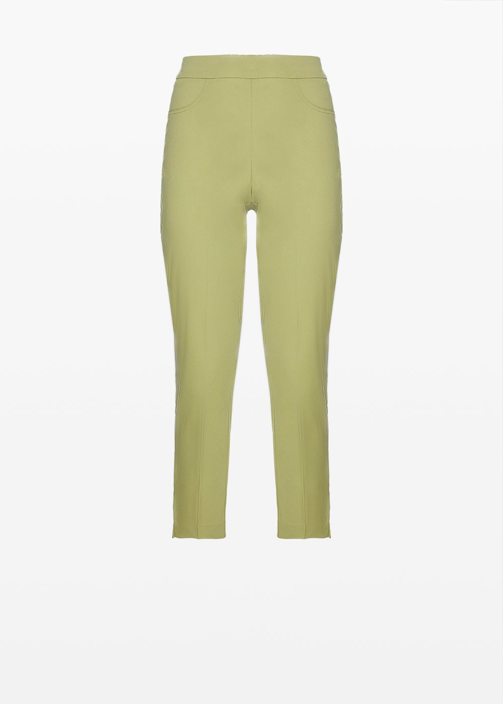 Capri Pants 'Piero6' Scarlett design in cotton sateen - Alga - Woman - Category image