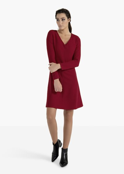 Dress Amore with V-neck