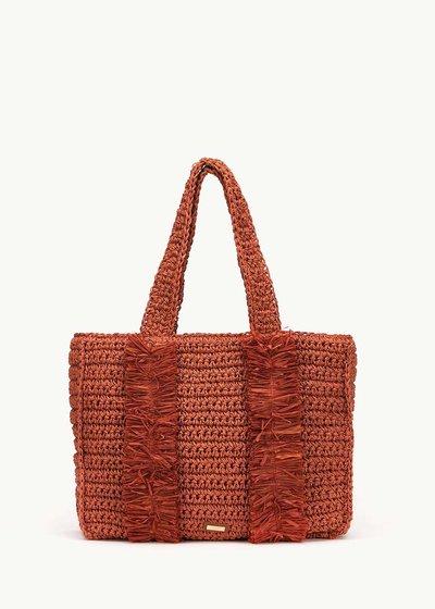 Shopping bag Brenda in raffia