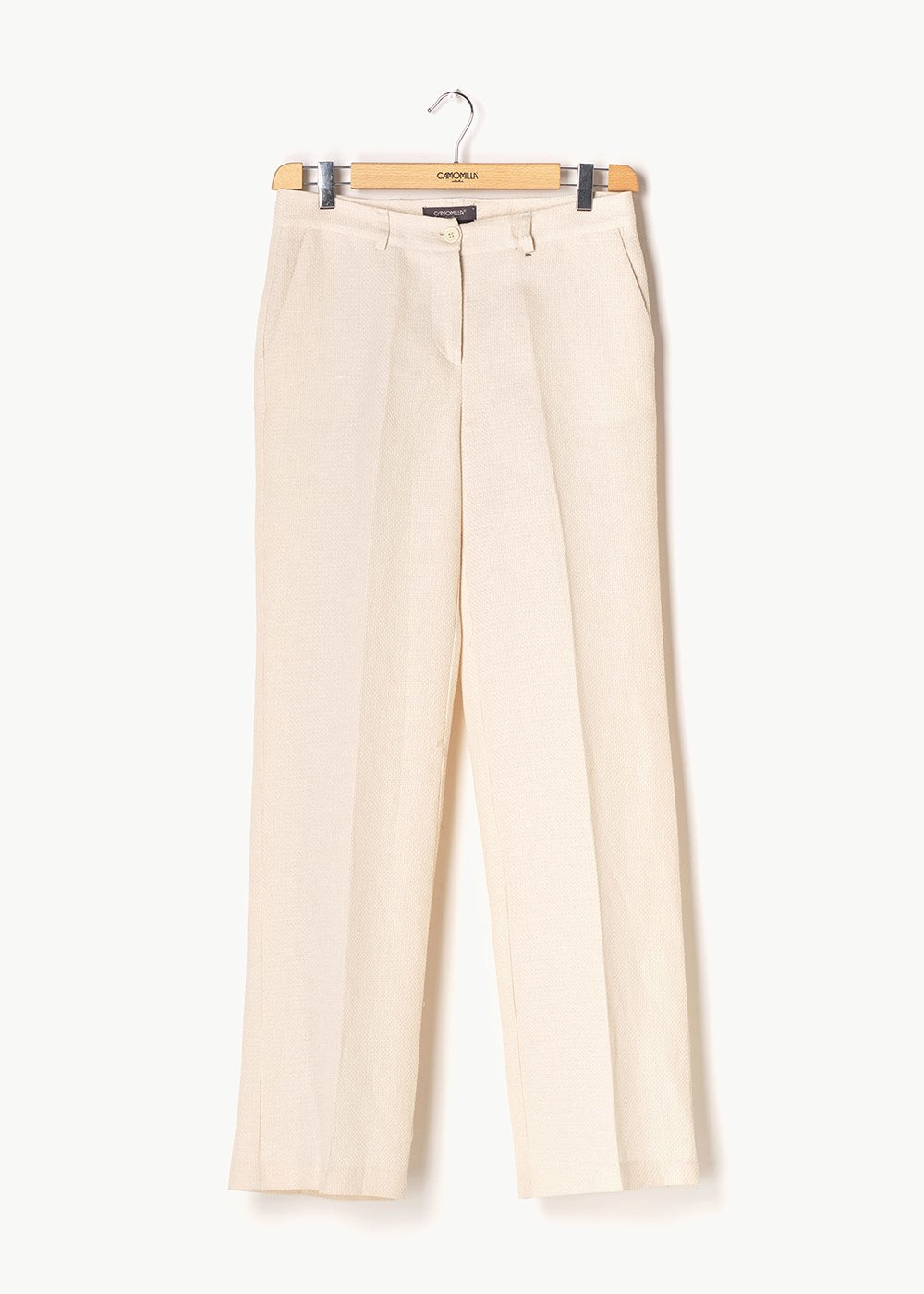 Giorgia trousers with matting effect - Ginger - Woman
