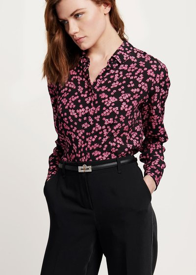 Alessia shirt with flower print